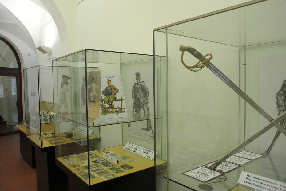 Ernst Fiedrich im Kunstmuseum Solingen - Foto: Michael Mahlke